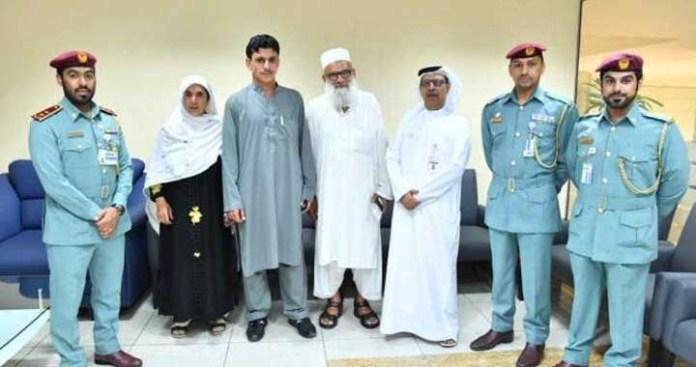 Dubai reunites Pakistani driver with parents after 6 years