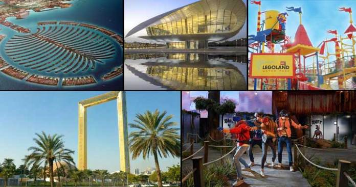 Top 5 Places in Dubai you must Visit in 2018