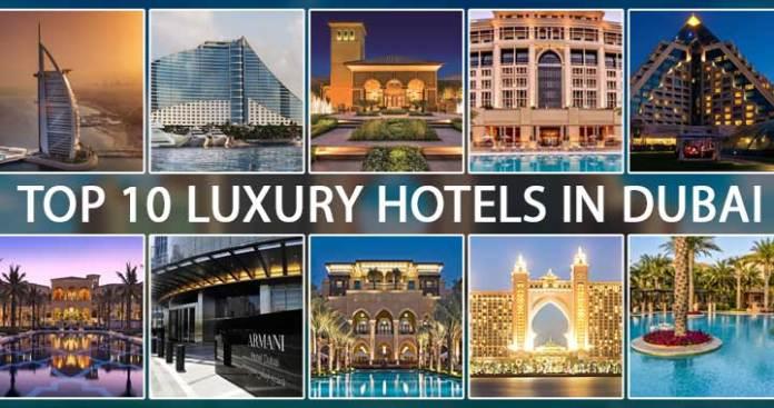hotels in dubai luxury top 10