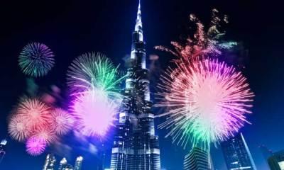 Burj Khalifa Lights Up for the new 'Avengers Infinity War' Movie