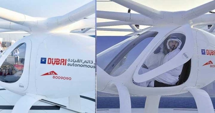Dubai is 'Ready' for Flying Taxis, Mattar Al Tayer - Director RTA