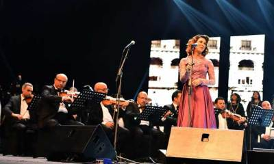 Egypt's National (AME) of the Egyptian Opera House Performed in Saudi Arabia