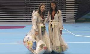 UAE-based Women Wearing Garbage Clothes for Campaign 'Waste Me Not'