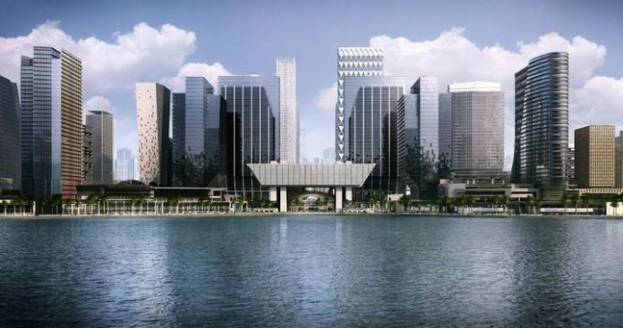 Abu Dhabi's Financial Hub Launches First Office in China