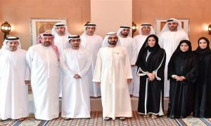 HH Sheikh Mohammed meets members of UAE Journalists Association Board, donates Dh5m