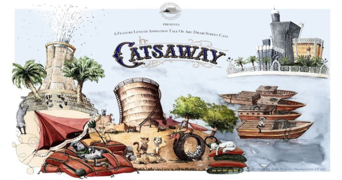 UAE's Animated Feature 'Catsaway' Launched Trailer in Abu Dhabi