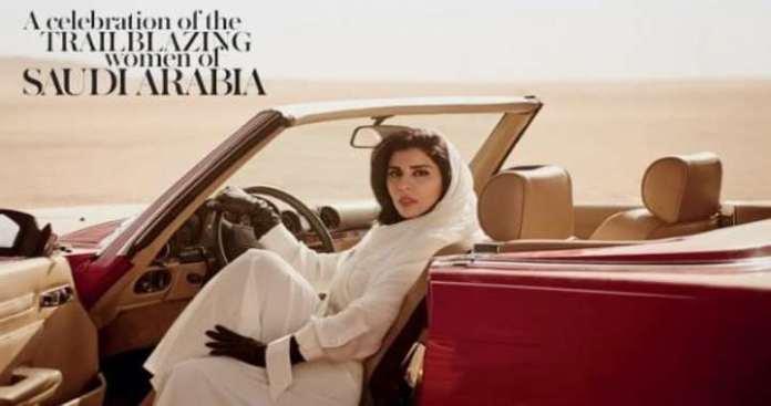 Backlash over Vogue Cover of Saudi Princess Hayfa bint Abdullah al Saud Behind Wheel