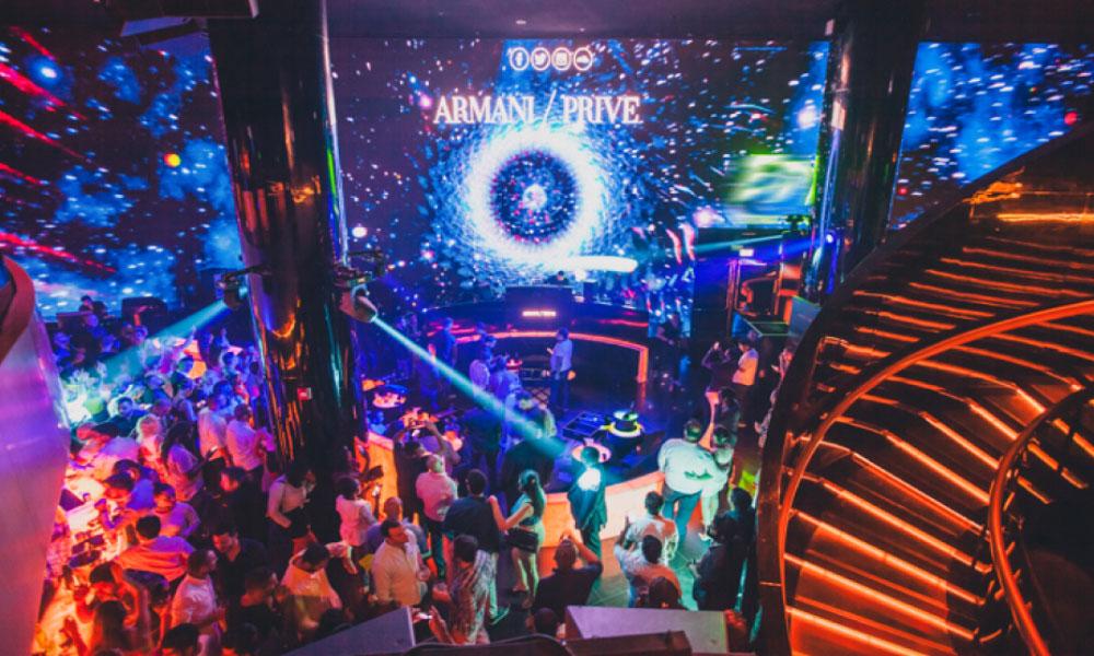 Armani Prive - Downtown Dubai: Premium Nightclub inside Burj