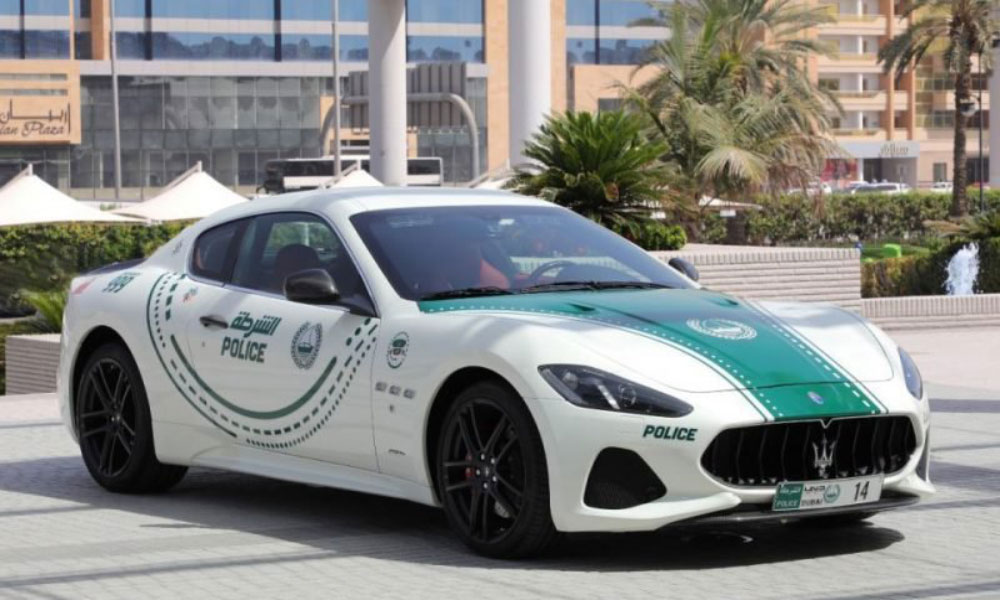 Maserati GranTurismo joins the fleet of Dubai Police patrols