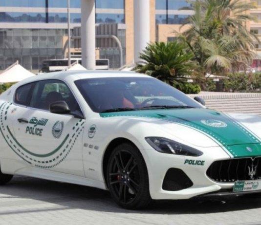 Maserati GranTurismo joins the fleet of Dubai Police patrols