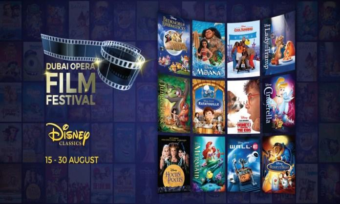 Dubai Opera is organizing the Disney Classics Film Festival