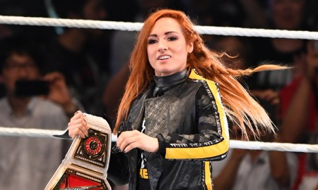 Becky Lynch Promotes Dubai Fitness Challenge