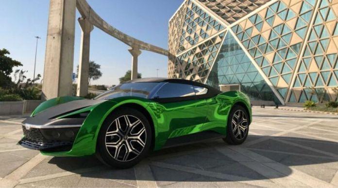 GFG Style's 2030 Saudi Arabia Car Revealed in Riyadh Car show