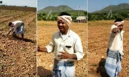Indian Farmer sings hit Bieber song 'Baby' in Viral Video