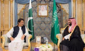 PM Imran Khan Meets Saudi Crown Prince In Riyadh