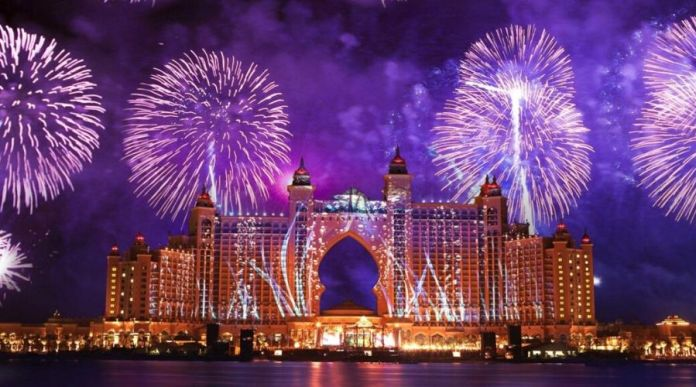 Where to Watch New Year Fireworks in Dubai