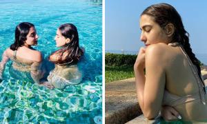 Sara Ali Khan sets Vacation Goals with Maldives Instagram Posts