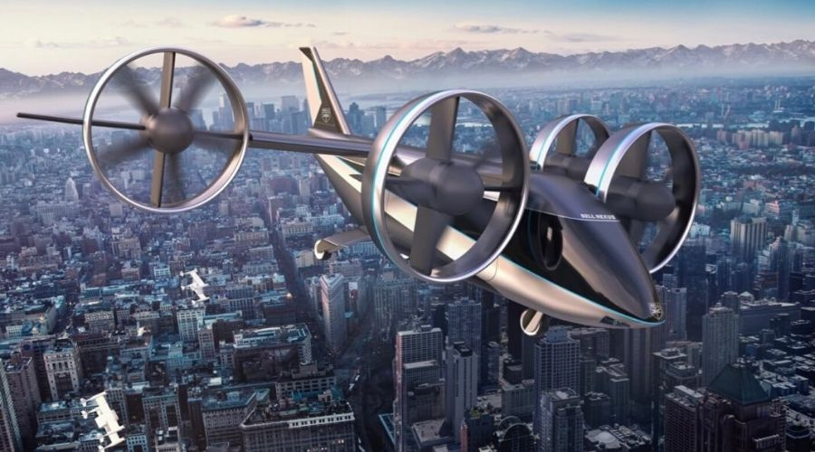 Flying Taxis to become a Reality in Saudi Arabia
