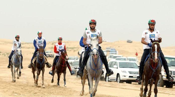 Sheikh Hamdan wins Saudi Arabia's Al Ula endurance race