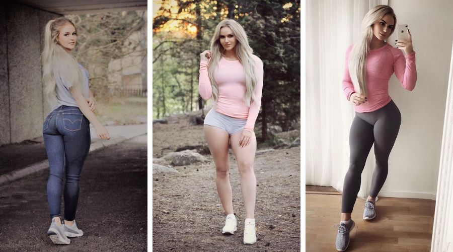 Swedish Influencer, Anna Nystrom is in Dubai for a Vacation