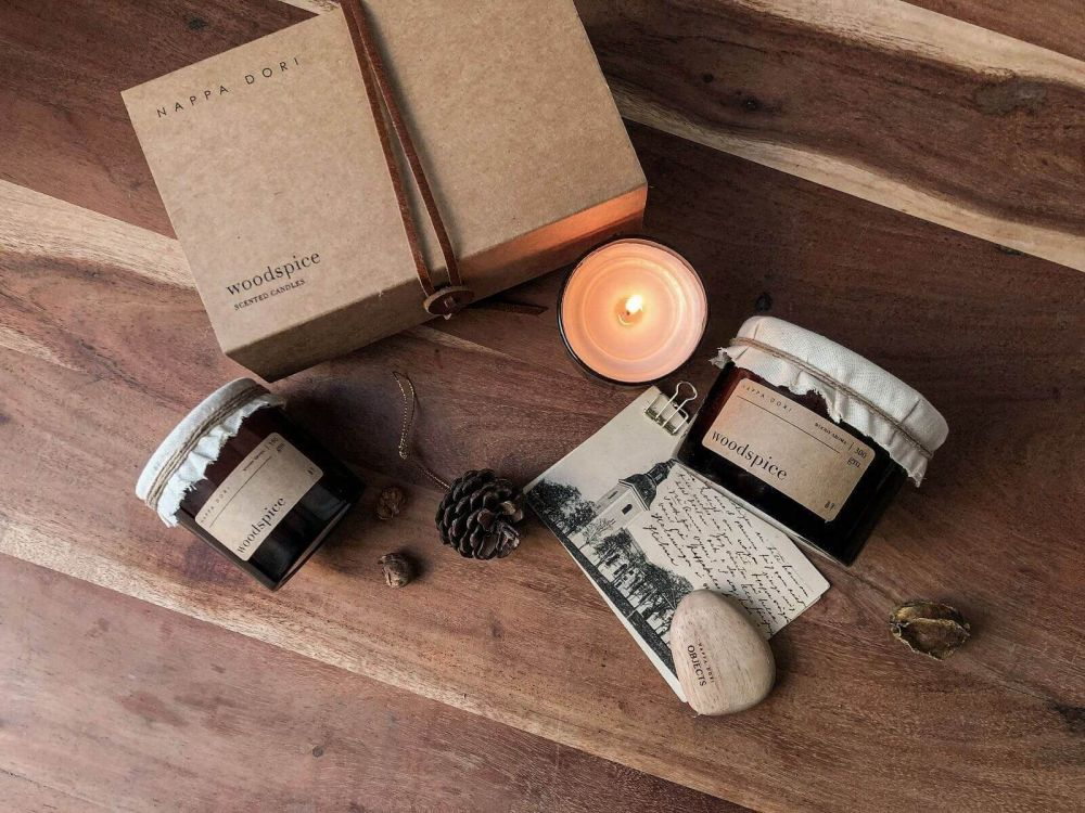 Set Of Scented Candles