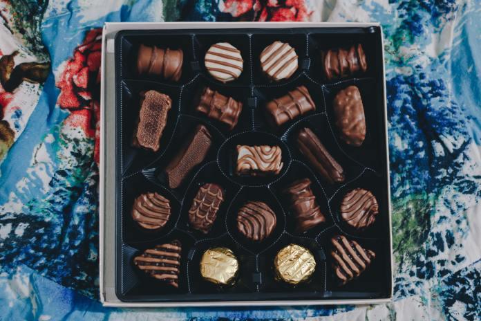 4. Box of luscious chocolate