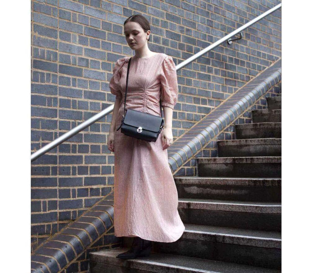 Fashionable Saddle Bag