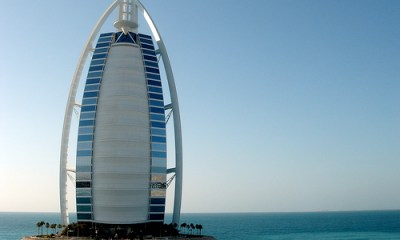 Burj Al Arab, United Arab Emirates- Amazing buildings