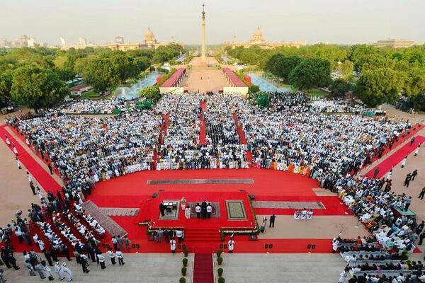 Narendra Modi become 15 Prime Minister of India