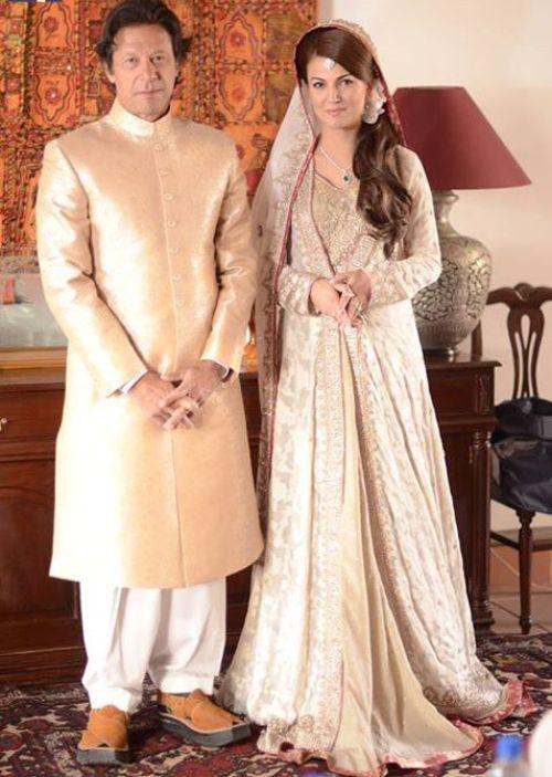 Imran khan & Reham khan