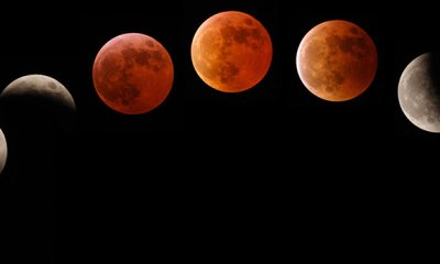 lunar eclipse of bloody moon