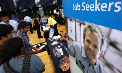 Employers in the US created 223,000 new jobs in April