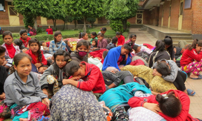 One Million children loss classroomsEarth quake in Nepal