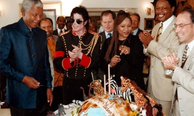 Nelson Mandela and Michael Jackson
