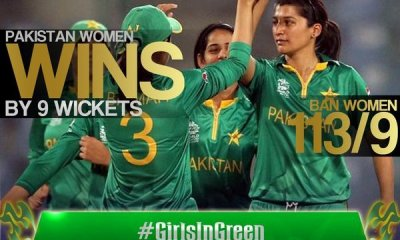 Girls in Green bring happiness to Pakistani Cricket Fans