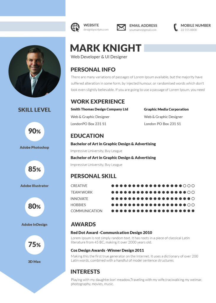 importance of writing a good  u0026 professional cv