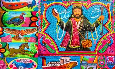 Pakistan's truck art