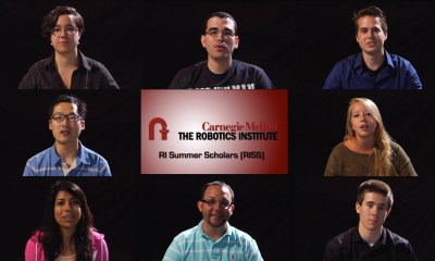 Robotics Institute Summer Scholars (RISS) Robotics Research Program for Undergraduate Students at Carnegie Mellon University