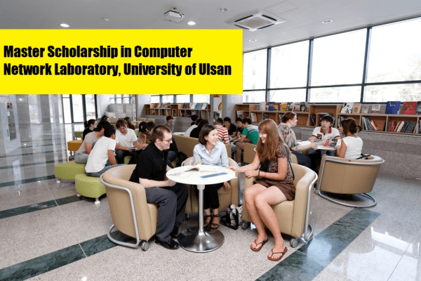 Master Scholarship in Computer Network Laboratory, University of Ulsan - Copy