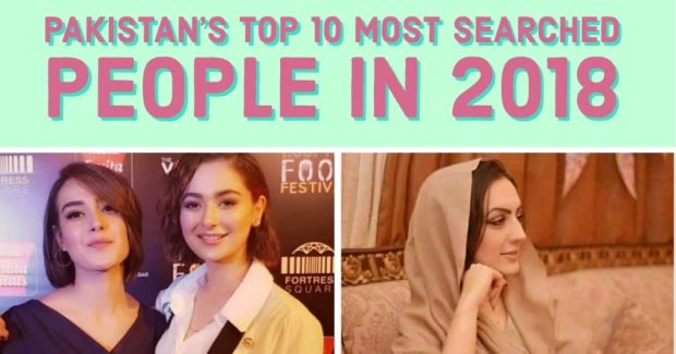 Top Most Searched People in Pakistan in 2018