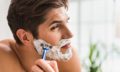 Shaving Facial Hair