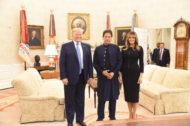 Imran Khan Met with Malena Trump