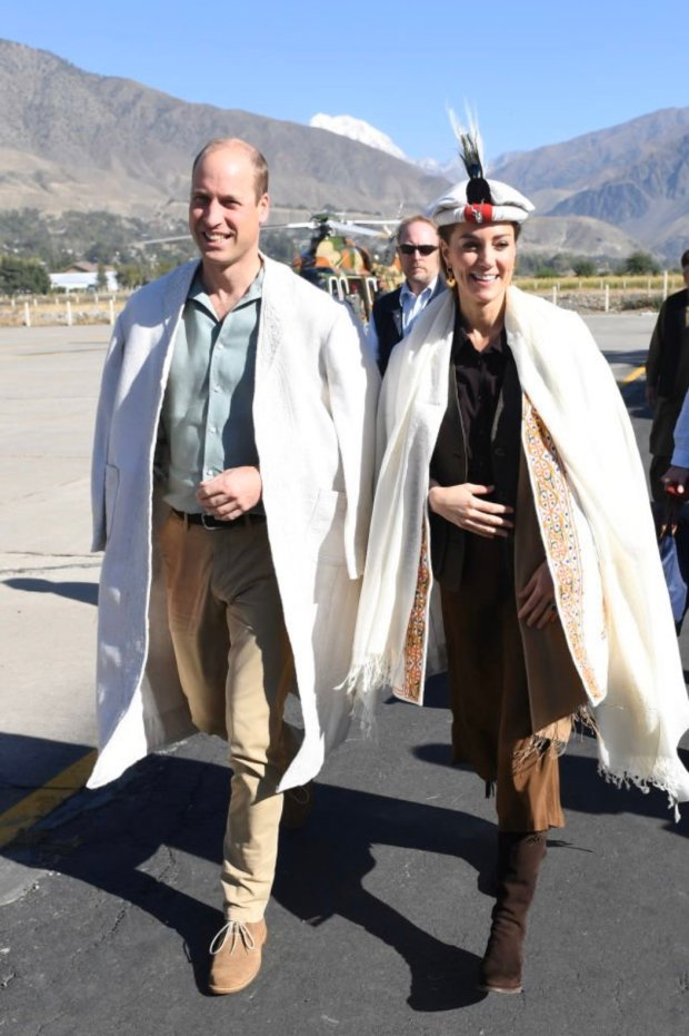 Royal Couple in the mountains of Chitral