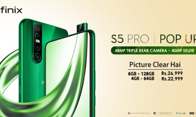 Infinix S5 Pro 40MP Pop-up selfie camera