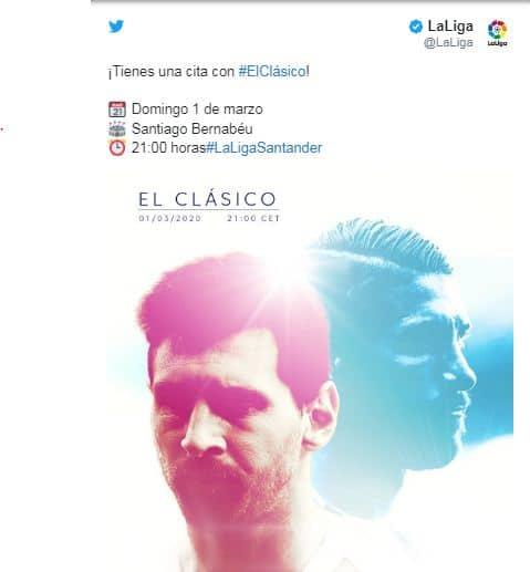 تحديد موعد الكلاسيكو مباراة الإياب بين ريال مدريد وبرشلونة