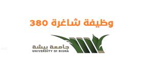 تقديم وظائف جامعة بيشة 1443 للرجال والنساء