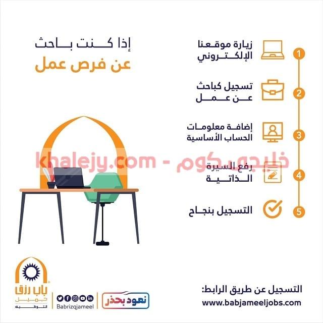 باب رزق جميل وظائف مكة والمدينة والطائف والخبر وبريدة 490 وظيفة