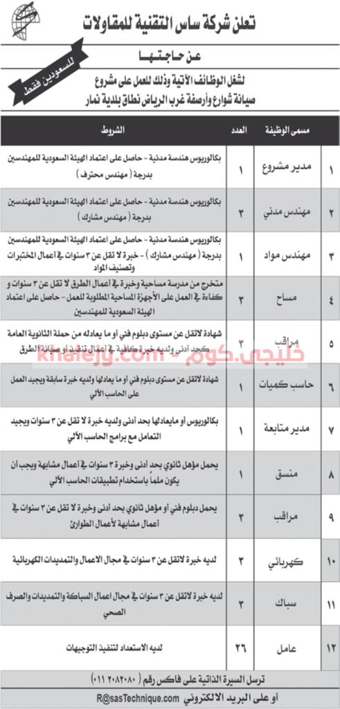 امانة منطقة الرياض وظائف لحملة الثانوية فأعلى خليجي كوم