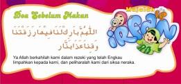 Doa Sebelum Makan
