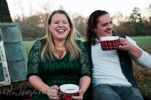 Katy & Josh | Christmas Card Photo Shoot